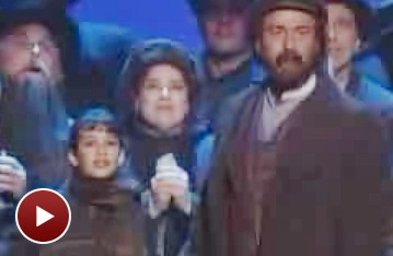 A Young Lea Michele and the Cast of Ragtime Define a Bygone Era at the 1998 Tonys