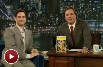 Justin Bartha Shares Crudite With Jimmy Fallon (And Talks Tenor)