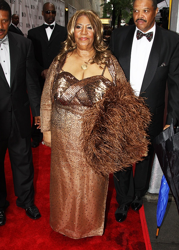 Feathers, Sequins, and Attitude: Aretha Franklin Makes an Entrance