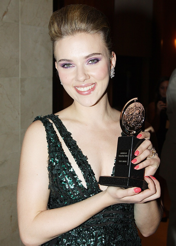Scarlett Johansson awards