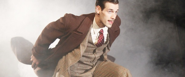 The 39 Steps' John Behlmann Takes on the Hilarious and Handsome Hannay