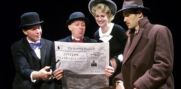 The 39 Steps Preps for Its Milestone 1,000th Performance