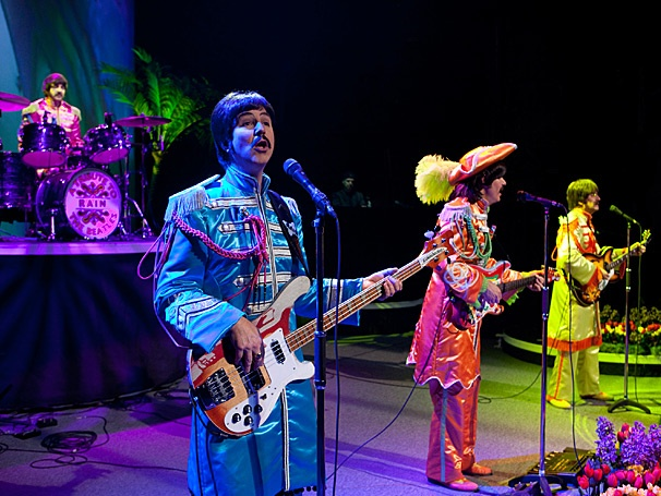 Beatles Tribute Rain Sets Closing Date on Broadway