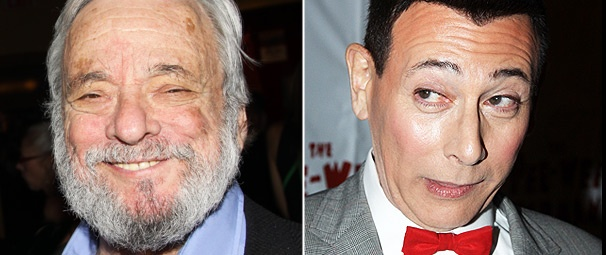 Look Who's In Pee-wee's Inbox! Stephen Sondheim Himself Welcomes the Funnyman to Broadway