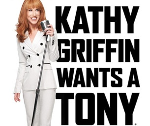 Comedian Kathy Griffin Adds Additional Performances to Her Tony Bid