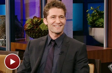 Glee's Matthew Morrison Sings 'Summer Rain' and Riffs About Back Massages on The Tonight Show