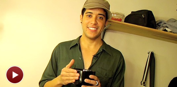 Rock of Ages' Dan Domenech Shows Off His Cool Backstage Stuff and Lack of Privacy