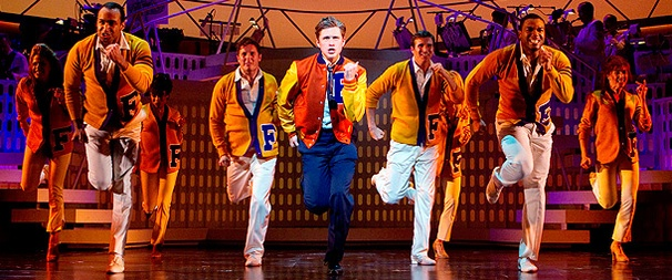 Catch Me If You Can CD Signing and Performance on Tap, Featuring Aaron Tveit and Norbert Leo Butz