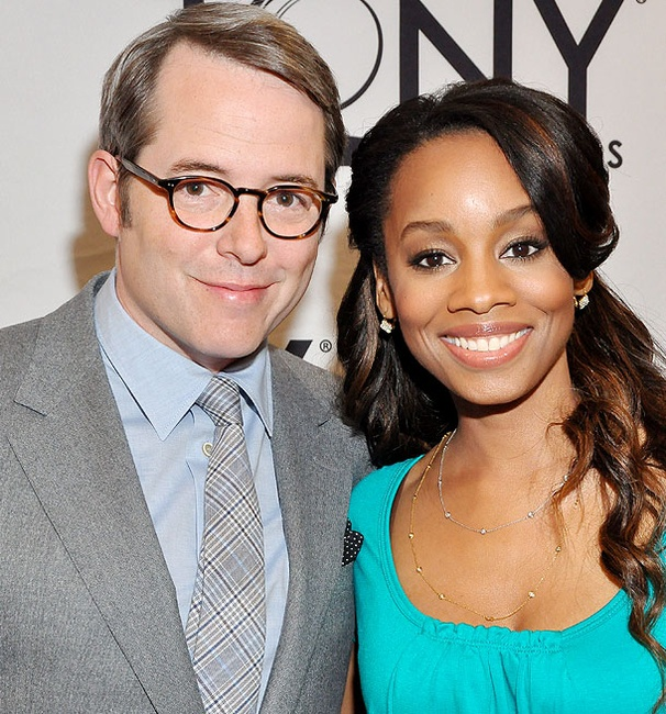 Tony Winners Matthew Broderick and Anika Noni Rose Get Up Early to Deliver Tony Nom News