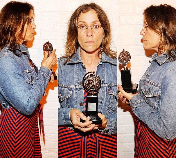 WTF? Frances McDormand's Tony Night Mug Shot