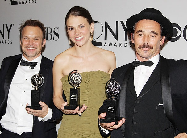 2011 Tony Winners Show Off Their Trophies!
