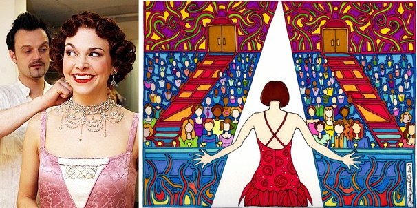 Sutton Foster paintings