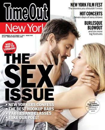 Venus in Fur Stars Nina Arianda and Hugh Dancy Pose for Time Out New York's Sex Issue