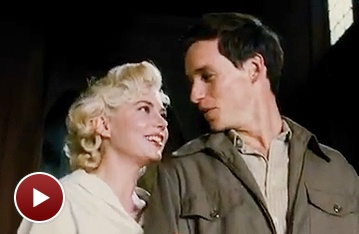 See Tony Winner Eddie Redmayne Get Swept Away in My Week With Marilyn