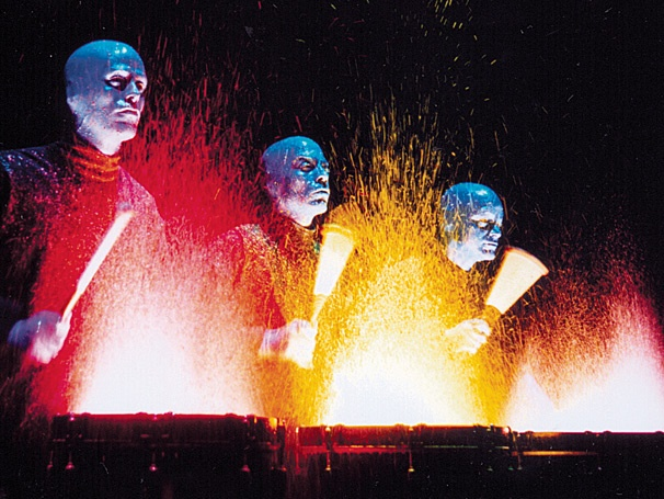 Go Blue! Blue Man Group Begins in Calgary