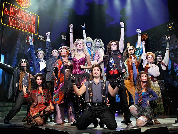 Get an Electrifying Preview of the Totally Awesome Cast of Rock of Ages on Tour