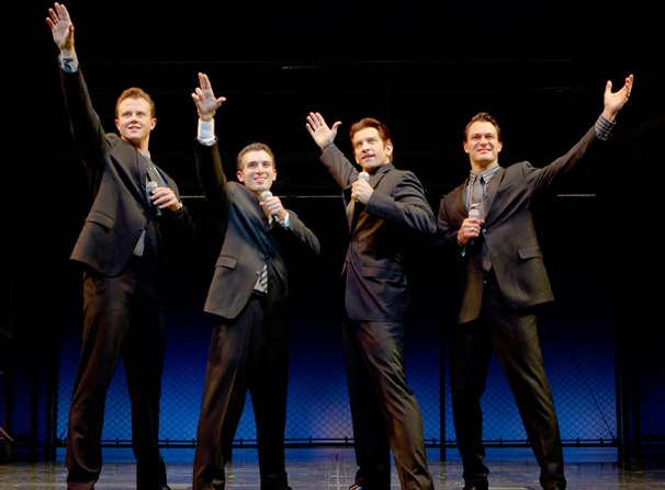 First Look at New Jersey Boys Stars Andy Karl and Quinn VanAntwerp