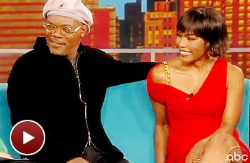 See The Mountaintop's Samuel L. Jackson and Angela Bassett Sit Down on The View