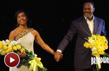 Samuel L. Jackson and Angela Bassett Talk Climbing to The Mountaintop on Opening Night