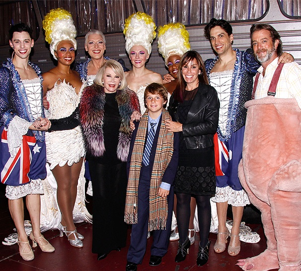 Joan & Melissa Rivers Color Their World at Priscilla Queen of the Desert