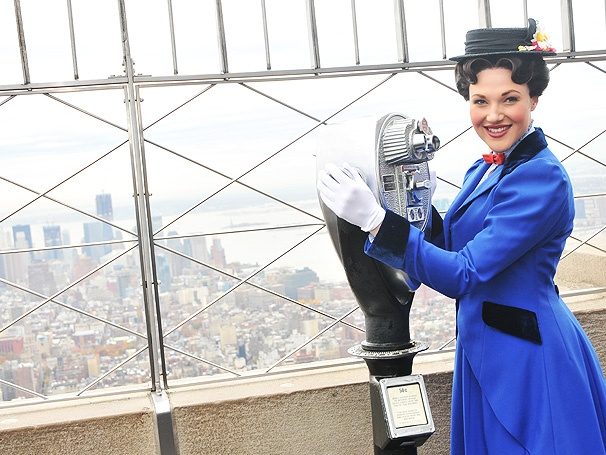 Jolly Holiday! Steffanie Leigh Lights the Empire State Building in Honor of Mary Poppins' Fifth Anniversary
