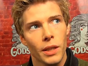 O Holy Night! Hunter Parrish and the Cast of Godspell Celebrate Their Broadway Opening 