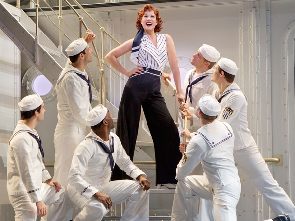 Anchors Away! Stephanie J. Block Takes Over as Reno Sweeney in Anything Goes