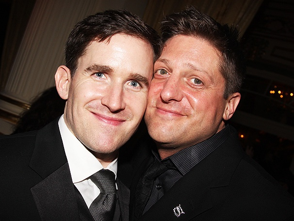 Two-Time Tony Nominee Christopher Sieber Marries Kevin Burrows at Thanksgiving Day Wedding