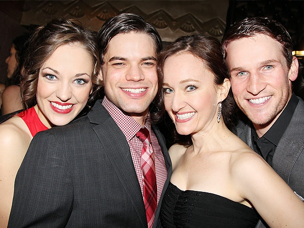 Bonnie & Clyde, Starring Laura Osnes and Jeremy Jordan, Hits Broadway With a Bang on Opening Night