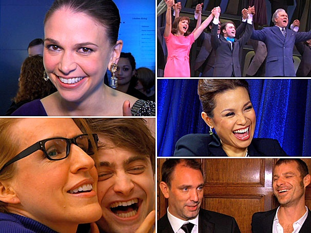 Rewind the Clock! Sutton Foster and The Book of Mormon Top the List of 2011s Most Watched Broadway.com Videos