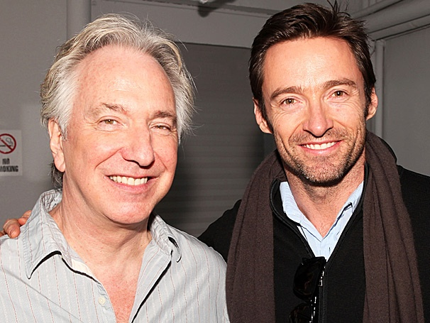 Alan Rickman Teaches Hugh Jackman a Thing or Two at Seminar