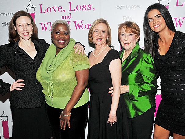 Eve Plumb, Katie Lee and the New Cast of Love, Loss and What I Wore Get Fashionable in 2012