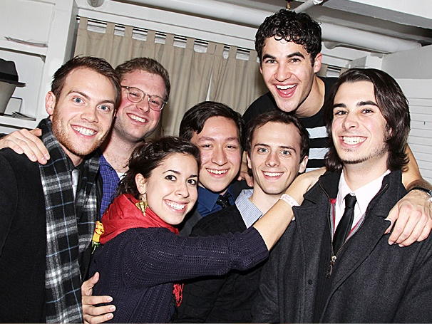 Team StarKid Pays a Cosmic Visit to How to Succeed Star Darren Criss