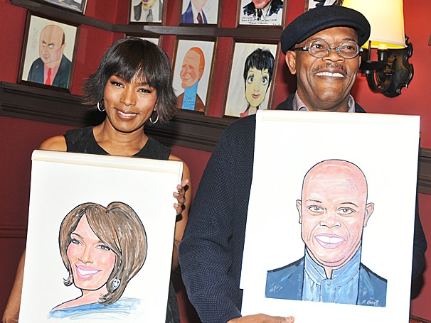 Sardi's Reaches New Heights with The Mountaintop's Angela Bassett and Samuel L. Jackson