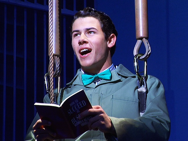 Exclusive Video! See Nick Jonas in Rehearsal for How to Succeed in Business