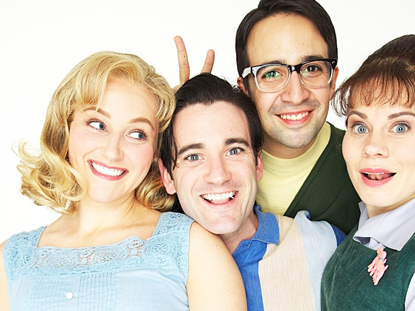 Take a First Look at Merrily We Roll Along Cast Portraits