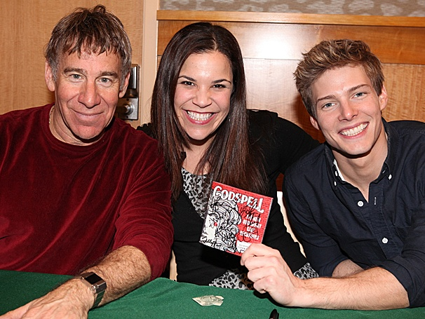 Hunter Parrish & the Cast of Godspell Celebrate Their Show's Heavenly CD