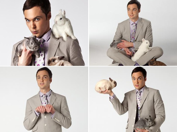 Awww! Harvey Star Jim Parsons Pals Around With Fuzzy Friends in Time Out