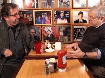 Exclusive Video! Old Jews Telling Jokes Creators Yuk It Up On Camera 