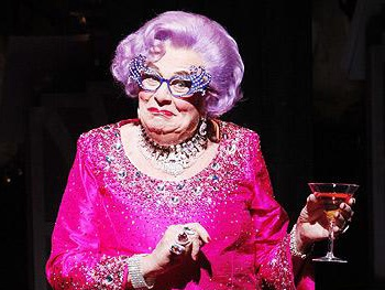 What a Drag! Dame Edna to Retire After Summer Tour