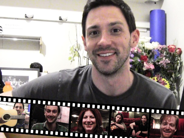 Guitar Hero: Backstage at Once with Steve Kazee, Episode 4: Music that Inspires the Actors
