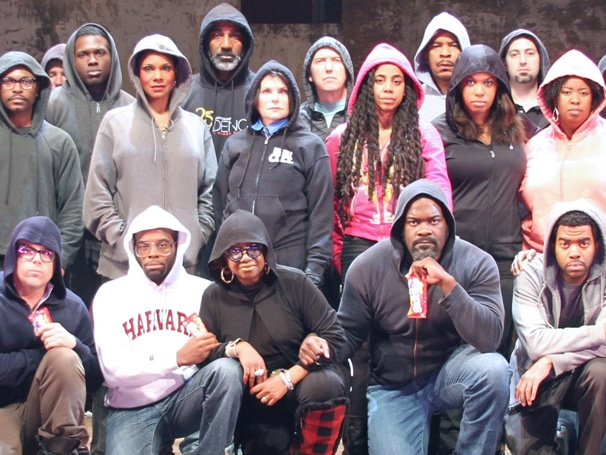 The Cast of Porgy and Bess Dons Hoodies to Honor Slain Teen Trayvon Martin