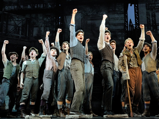 Seize the Day! Newsies, Starring Jeremy Jordan, Opens on Broadway