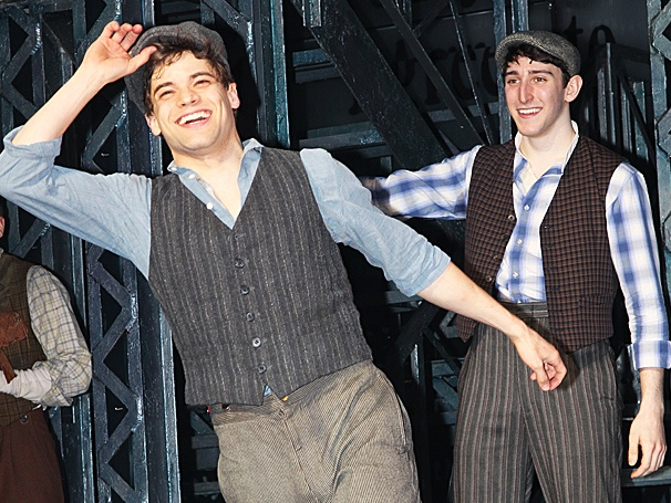 Front Page Glory! Jeremy Jordan and More Make Headlines at the Opening of Newsies