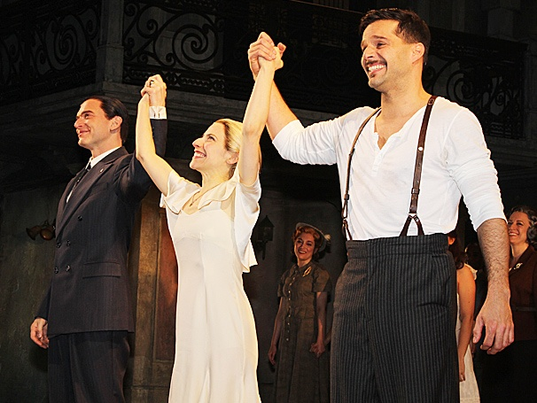Broadway Buzz: Get an Inside Look at Ricky Martin, Elena Roger, Michael Cerveris & More at Evita's Starry Opening