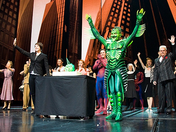 Spider-Man Star Patrick Page Enjoys a Freak-tastic Birthday Celebration