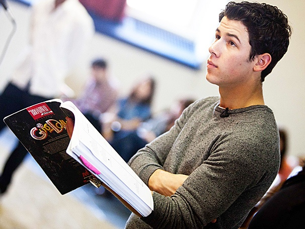 How to Succeed Star Nick Jonas Goes Back to Middle School for a Great Cause