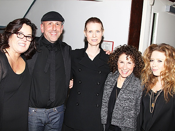 See Jailbirds Rosie O'Donnell, Cynthia Nixon, Natasha Lyonne & More at New Group's Women Behind Bars Reading