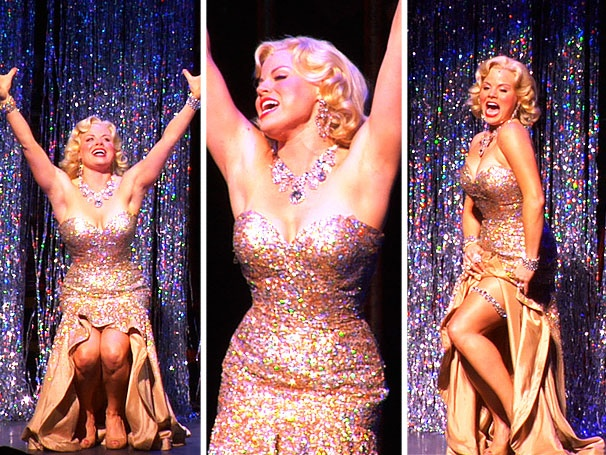 Watch Smash's Megan Hilty Channel Marilyn Monroe at Her Hottest with 'Diamonds Are a Girl's Best Friend'