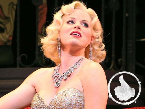 Thumbs Up! Megan Hilty & Co. Dazzle in Gentlemen Prefer Blondes at Encores! 